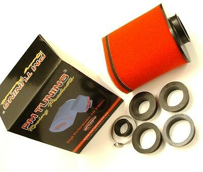 Scooter runner dragster typhoon SR PM Oval Air Filter 28mm - 56mm fitting