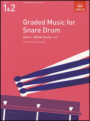 Graded Music for Snare Drum Book 1 ABRSM Grades 1-2 Exam Sheet Music Book