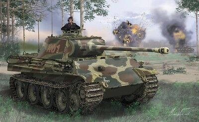 DRAGON 6847 - 1/35 WWII Dt. BEFEHLS PANTHER AUSF. G - NEU