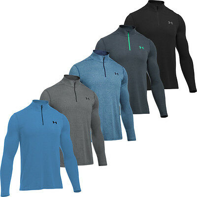 Under Armour 2017 Threadborne 1/4 Zip Pullover Mens Fitted Sweater Training Top