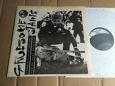 """V/a - Gruesome Stains - Lp + 7""""-Flexi - Play Lp 3 - Uk 1988"""