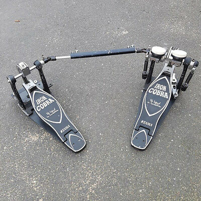 Tama Iron Cobra Double Bass Drum Pedal USED! RKTMP040117