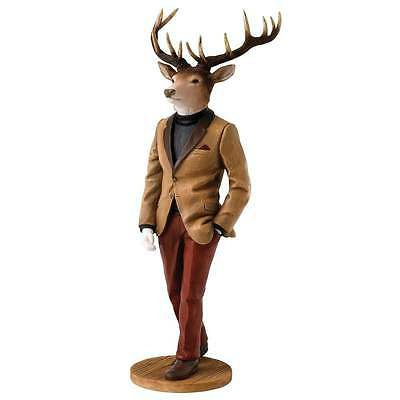 Border Fine Arts Stags With Style Collection Hugo Figurine New Boxed A27424