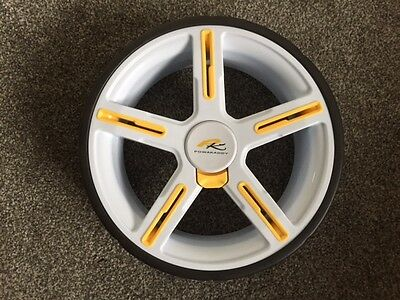 GENUINE POWAKADDY SPORTS WHEEL Colour WHITE NEW