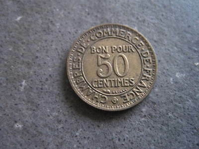 France....50 Centimes..........1922,.....r 32