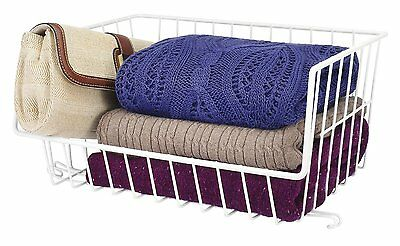 Whitmor Wire Stackable Basket Hardware Not Included