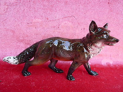 beautiful Porcelain Figurine__Fox__Ens (Thuringia)__