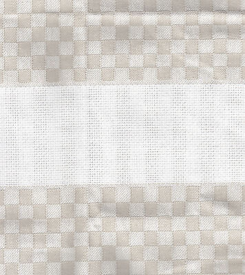 Lot of 2 - Cottage Check Towels - 15 x 24""