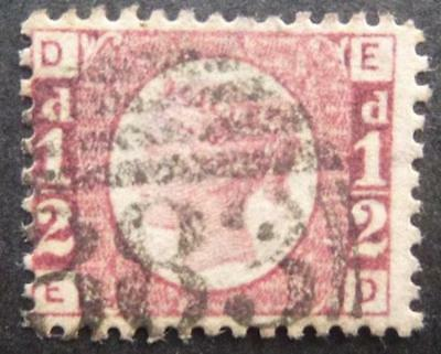 Q.V. 1/2d (Plate 3.) stamp - used.
