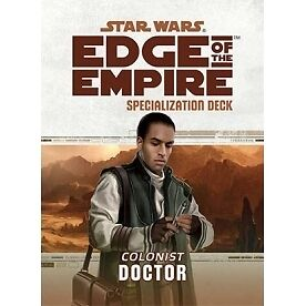 Star Wars Edge of the Empire Specialization Deck Doctor - Brand new!