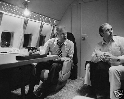 President Gerald Ford and Dick Cheney aboard Air Force One 1976 - New 8x10 Photo
