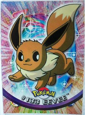 """TOPPS trading cards collection series 2a 2000 - """"Eevee n° 133"""" - normale"""