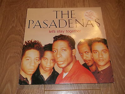 "The Pasadenas "" Let's Stay Together "" 12"" Vinyl Ex/ex 1992 Columbia"