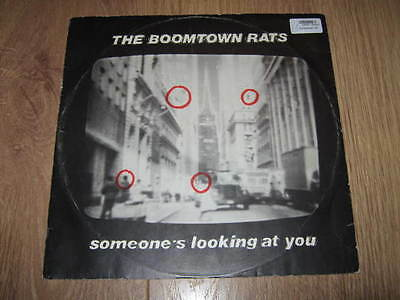 """The Boomtown Rats """" Someone's Looking At You """" Ensign 12"""" Single 1979"""