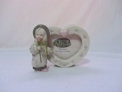 Kim Anderson's Pretty As A Picture Porcelain Girl Figurine Photo Frame