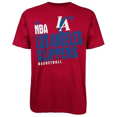NBA - Los Angeles Clippers adidas Stacked Extreme XL T-Shirt