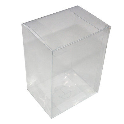 "1-Pack 4"" Crystal Clear Vinyl Box Case Protector With Plastic Film For Funko Pop"