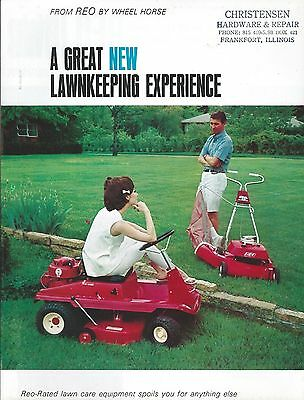 Lawn Tractor Brochure - Wheel Horse - REO Mower - Product Line Overview (LG02)
