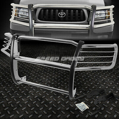 For 98-04 Toyota Tacoma Pickup Chrome Stainless Steel Front Bumper Grill Guard