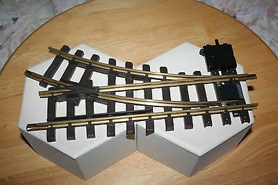 Lgb Brass Right Switch Track 1 Piece G Scale Item #1200 Model Rr Train Pr