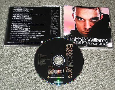 ROBBIE WILLIAMS Japan PROMO ONLY CD Special Sampler TAKE THAT other RW listed!