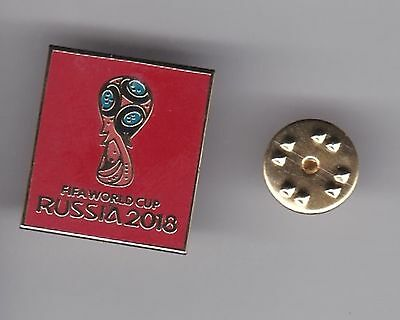 """Russia """" World Cup 2018""""  - lapel badge butterfly fitting"""