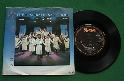 "The Inspirational Choir Abide With Me / Sweet Holy Spirit A4997 7"" Single"