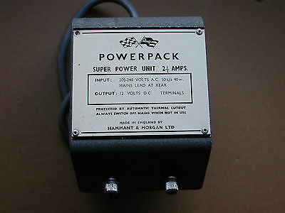 H&M Revell Power Pack Transformer Vintage *UNTESTED*