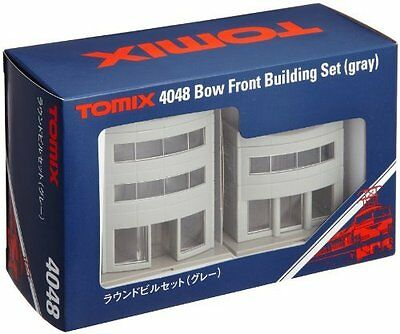 Bow Front Building Set (Gray) TOMIX 4048 N scale