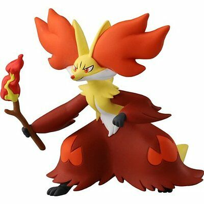 Takaratomy Official Pokemon X and Y SP 08 2.5' Delphox Action Figu<Japan import>