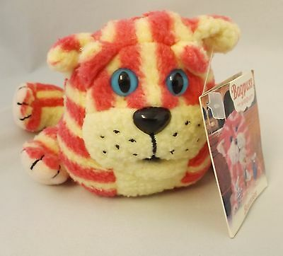 Small Vintage Bagpuss With Tag Tv Character Child's Collectable Soft Toy 22X