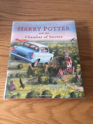 *SIGNED*Harry Potter & The Chamber Of Secrets - J K Rowling 1st EDITION HB 2016
