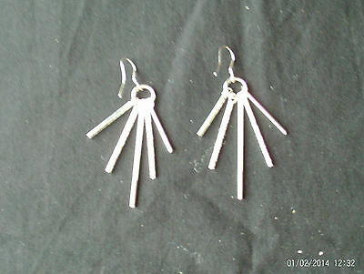 Women's Fashion 925 Silver Earrings  Beautiful Style with Gift Box