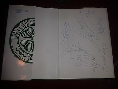 The Celtic Story HAND SIGNED 8 SIGNATURES  hb