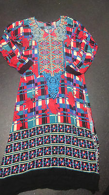 salwar kameez indian suit size12  u.k