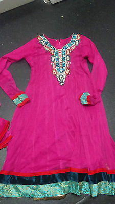 girls salwar kameez anarkali dress size 36 or age 12 approx