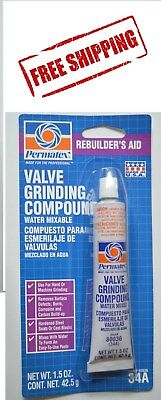 Permatex 80036 (34A) VALVE GRINDING COMPOUND 1.5 oz. Tube MADE IN USA Free Ship