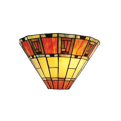 Tiffany Stained-glass EGYPTIAN TERRACOTTA Wall Light MT04W
