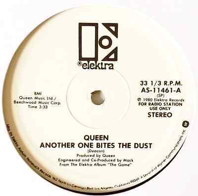 """QUEEN - Another One Bites The Dust (12"""") (Promo) (EX/EX)"""