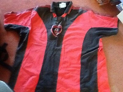 Rare Retro Pro Player New York New Jersey NY/NJ Metrostars Shirt Red Bulls