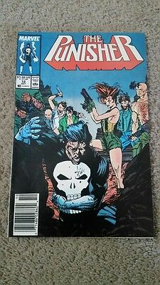 Marvel  The Punisher Vol. 2 #12 from October 1988