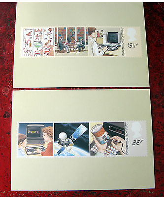 Post Office COLLECTORS 1st DAY COVER POST CARDS INFORMATION TECHNOLOGY