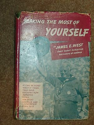 James West - Making the Most of Yourself 1941 - dust jacket