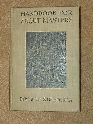 Handbook for Scout Masters - 1st edtion 1913/14 - very good condition