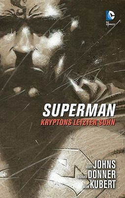 SUPERMAN: KRYPTONS LETZTER SOHN (deutsch) HC lim.Hardcover G.Johns/A.Kubert
