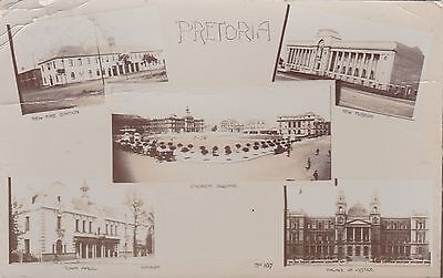 Pretoria,Foto,1914,new fire-station,Town hall,Church sq.,Museum,Palace de Justic