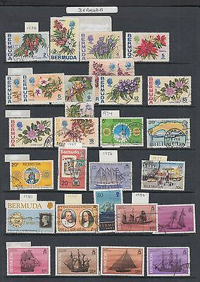 "£1.49 start - A group of ""BERMUDA"" issues, some good items (1970-86)"