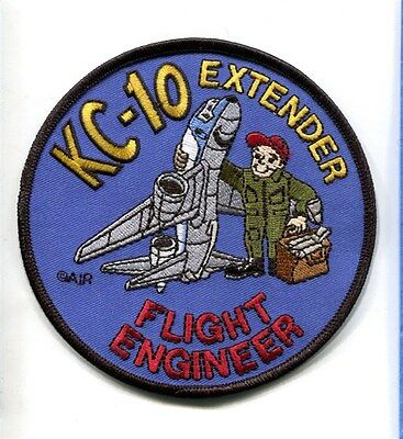 MCDONNELL KC-10 EXTENDER FLIGHT ENGINEER USAF Refueling Squadron Crew Patch