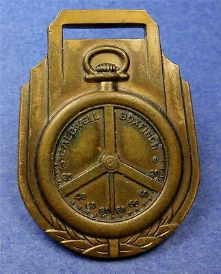 Watch Fob GEO A. CALDWELL CO BOXFINDR (earth's magnetic field-dip needle) ME1267