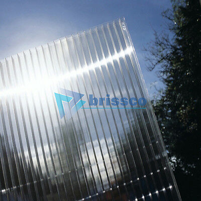 4mm Polycarbonate Roofing Sheet Various Sizes in Clear